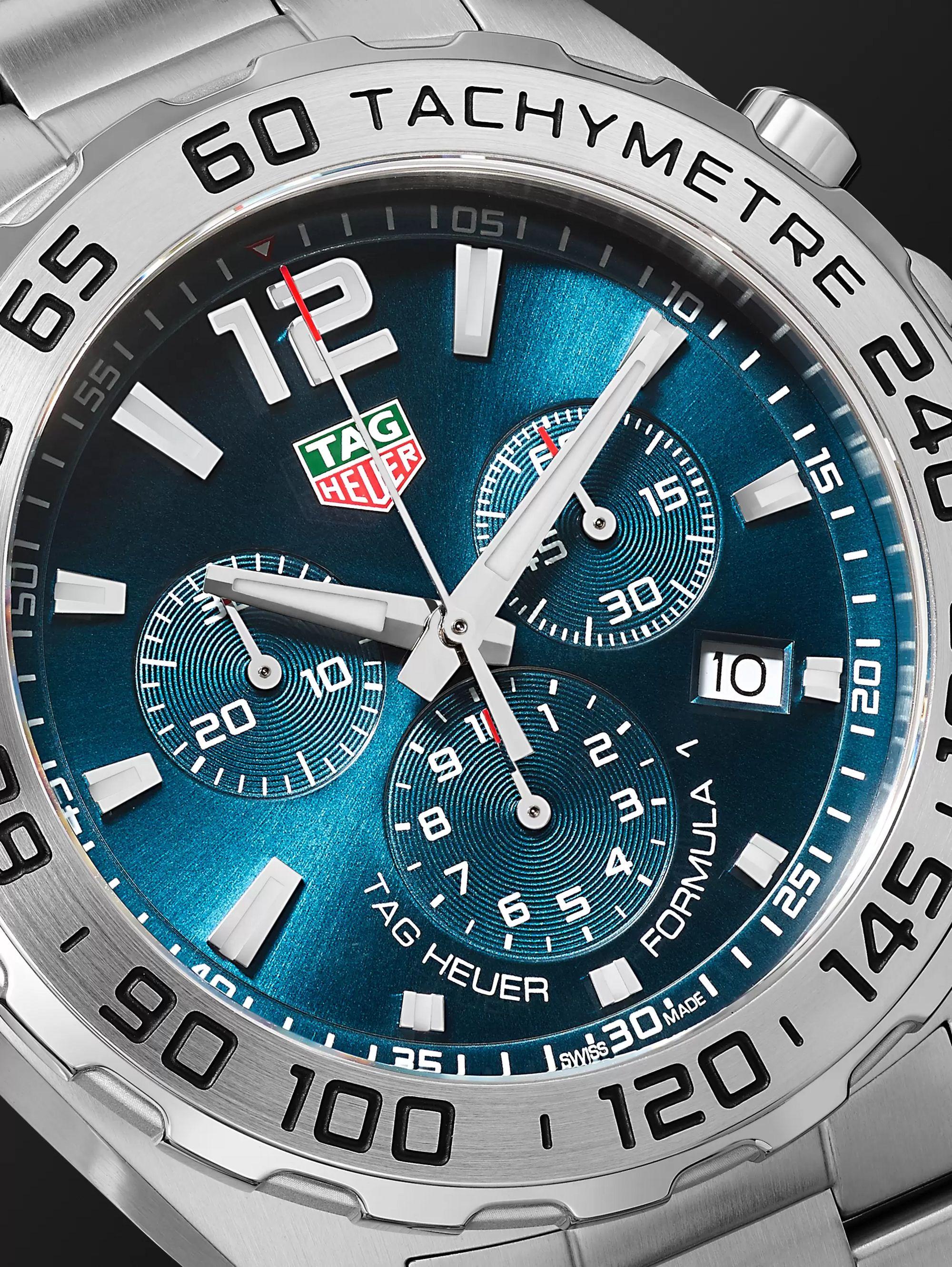 newest bddd7 daf96 Formula 1 Chronograph 43mm Stainless Steel Watch, Ref. No. CAZ101K.BA0842