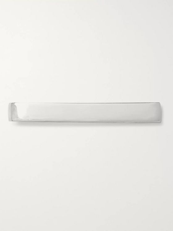 Alice Made This Bancroft Polished Silver Tie Bar