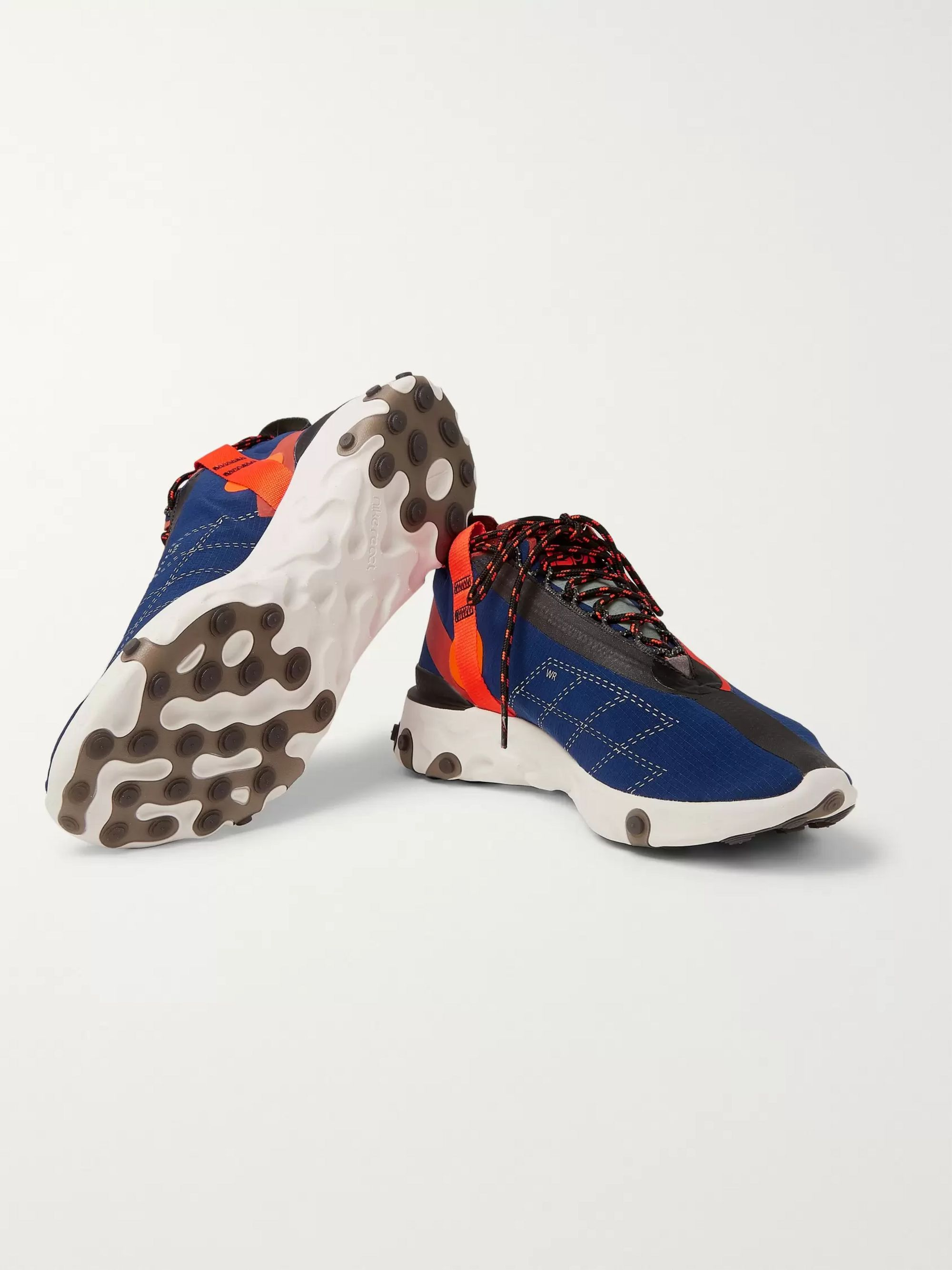 Nike React Runner Mid WR ISPA Ripstop Sneakers