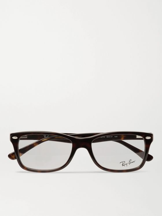 Ray-Ban Square-Frame Tortoiseshell Acetate Optical Glasses