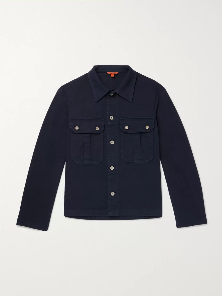 Barena Cotton-Blend Twill Overshirt