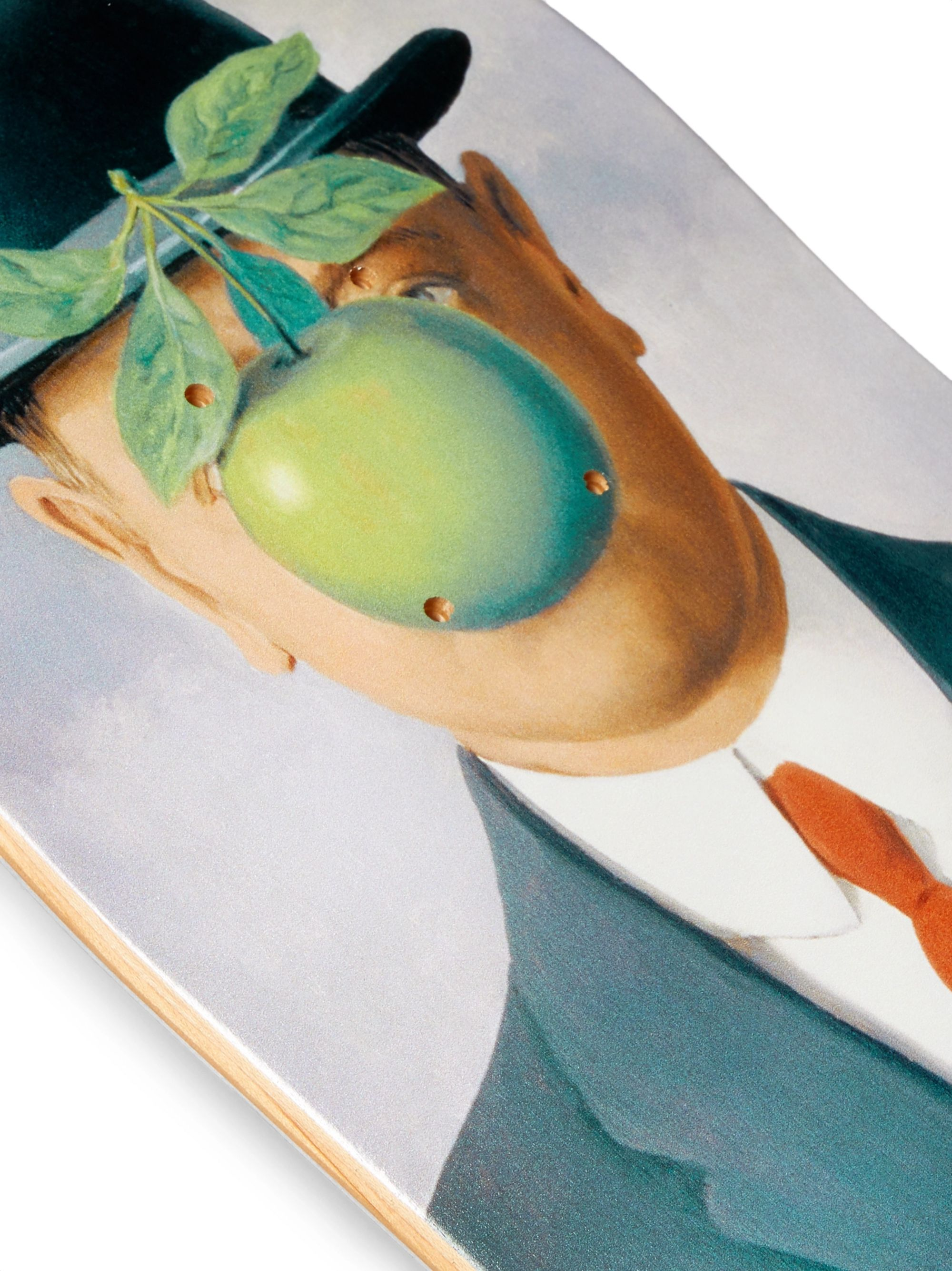 The SkateRoom + René Magritte Printed Wooden Skateboard