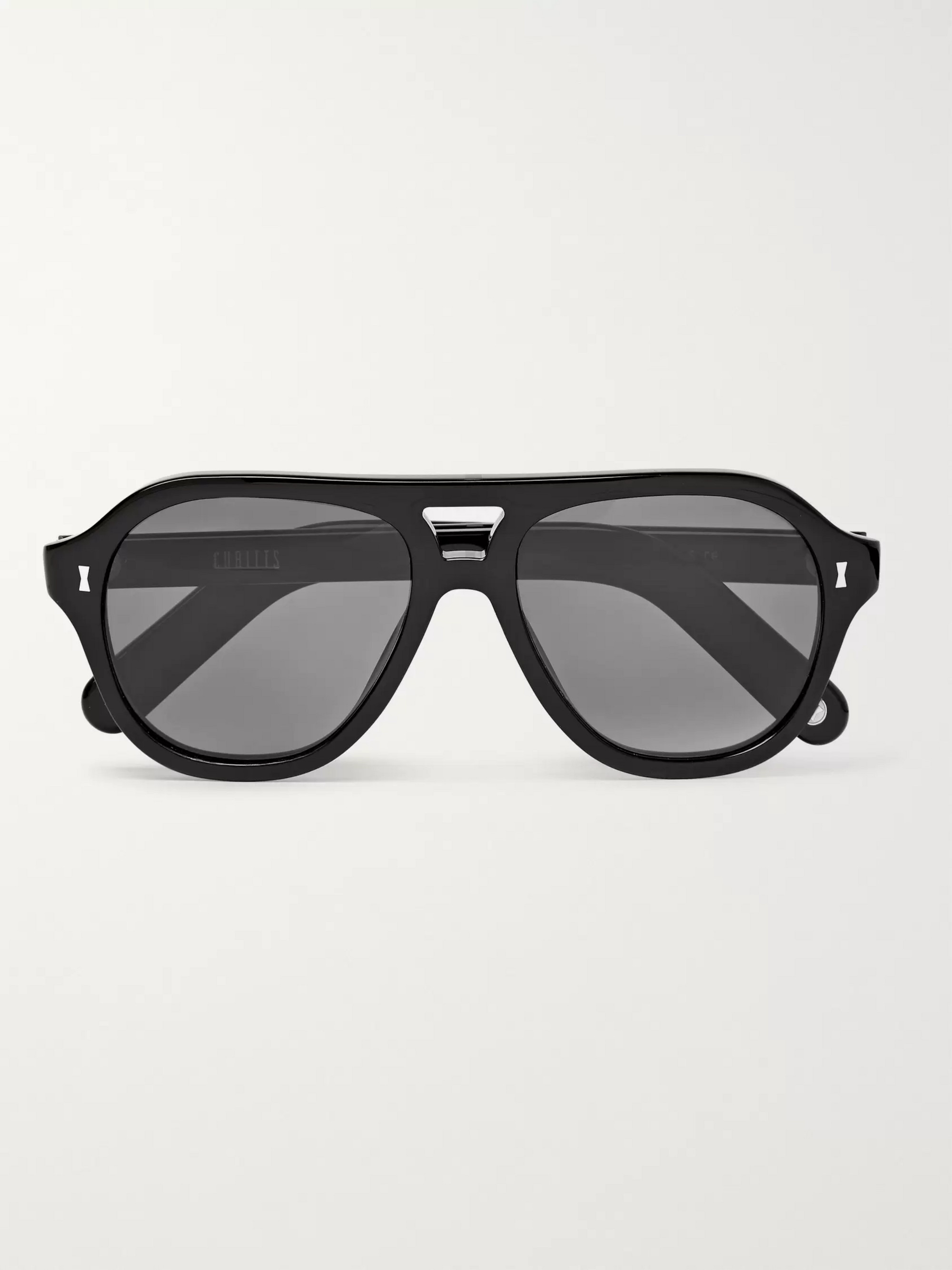 Cubitts Penton Aviator-Style Acetate Sunglasses