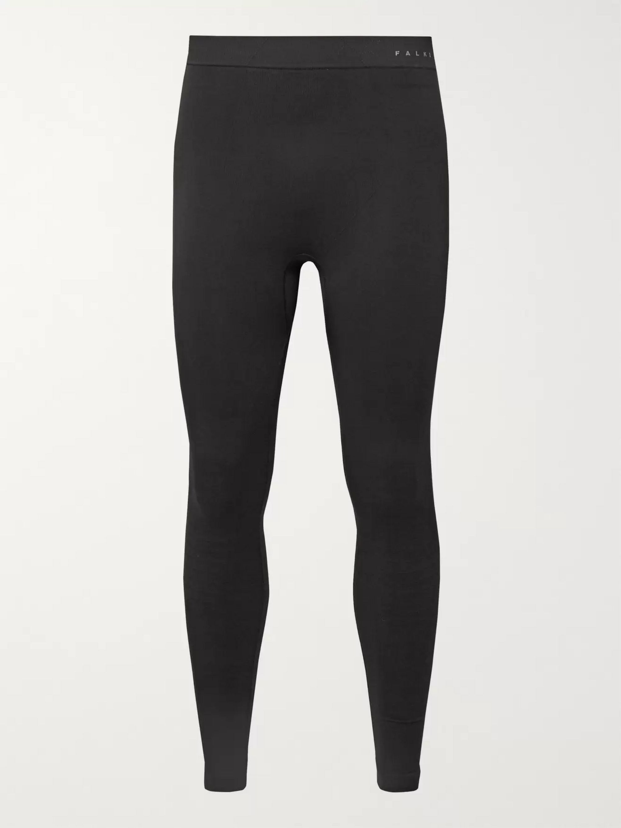 FALKE Ergonomic Sport System Maximum Warm Stretch Tech-Jersey Thermal Ski Tights