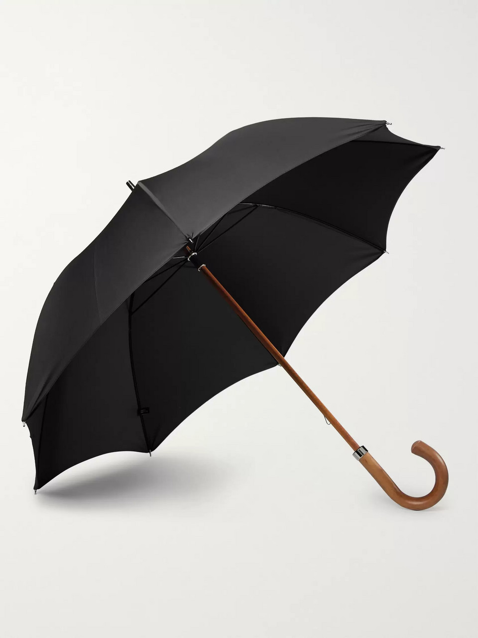 London Undercover City Gent Wood-Handle Umbrella