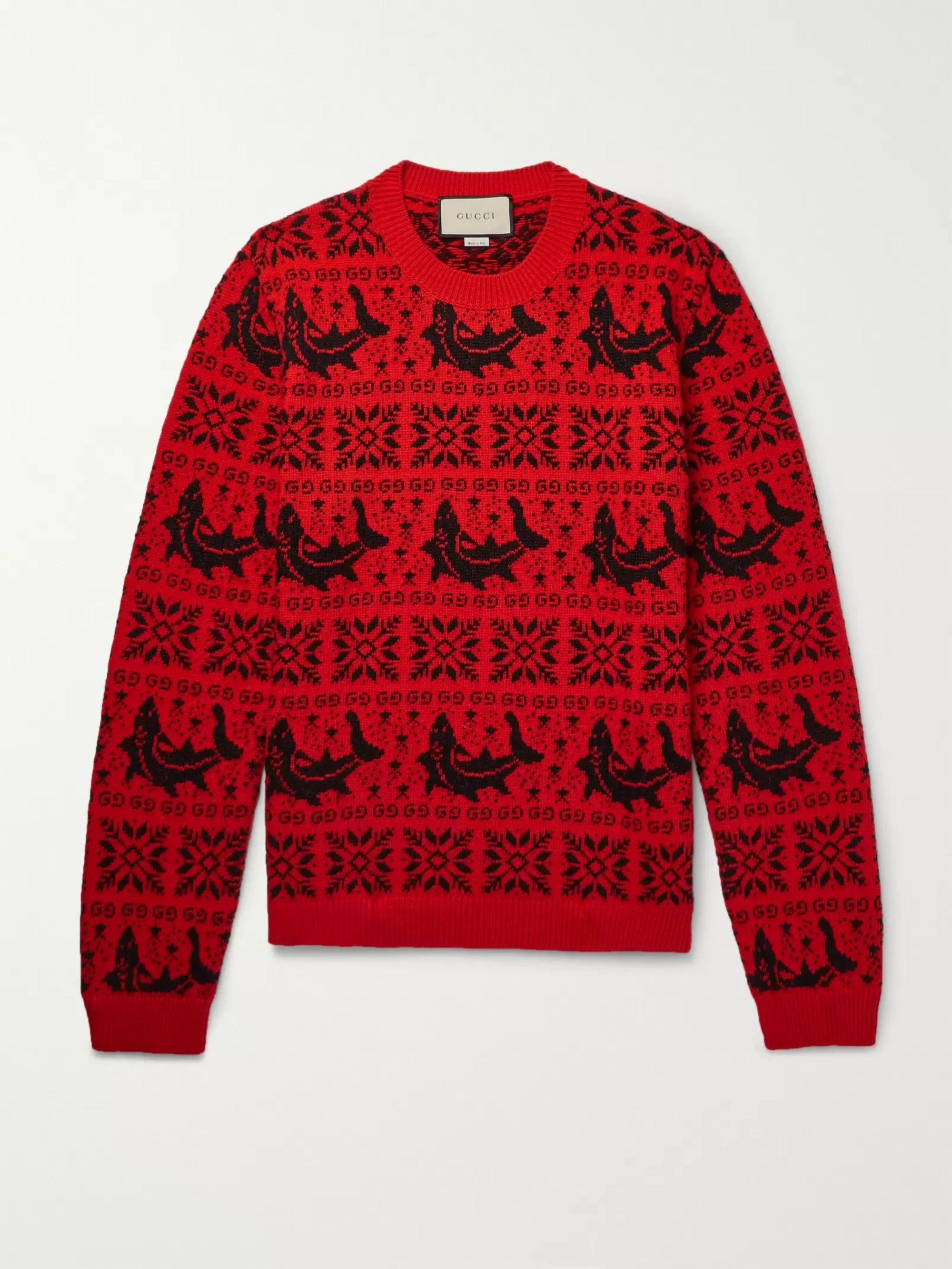 Fair Isle Jacquard Wool and Alpaca-Blend Sweater