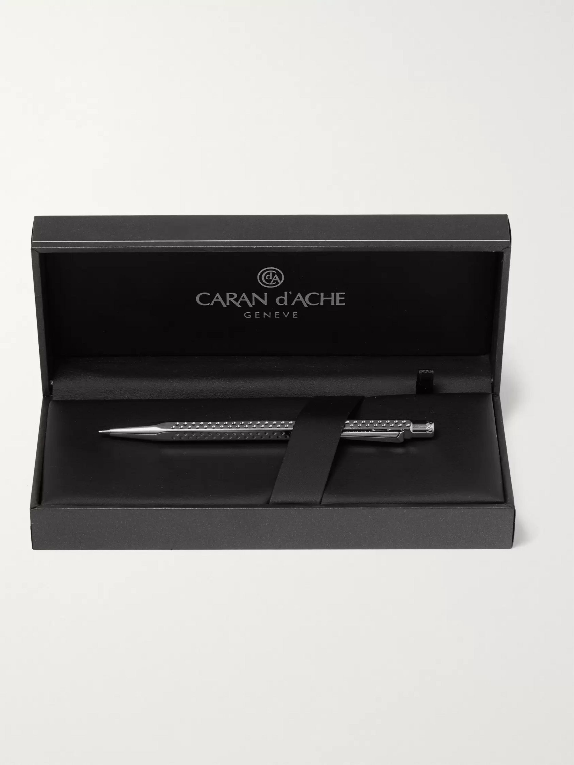 Caran d'Ache Palladium-Coated Ecridor Golf Mechanical Pencil