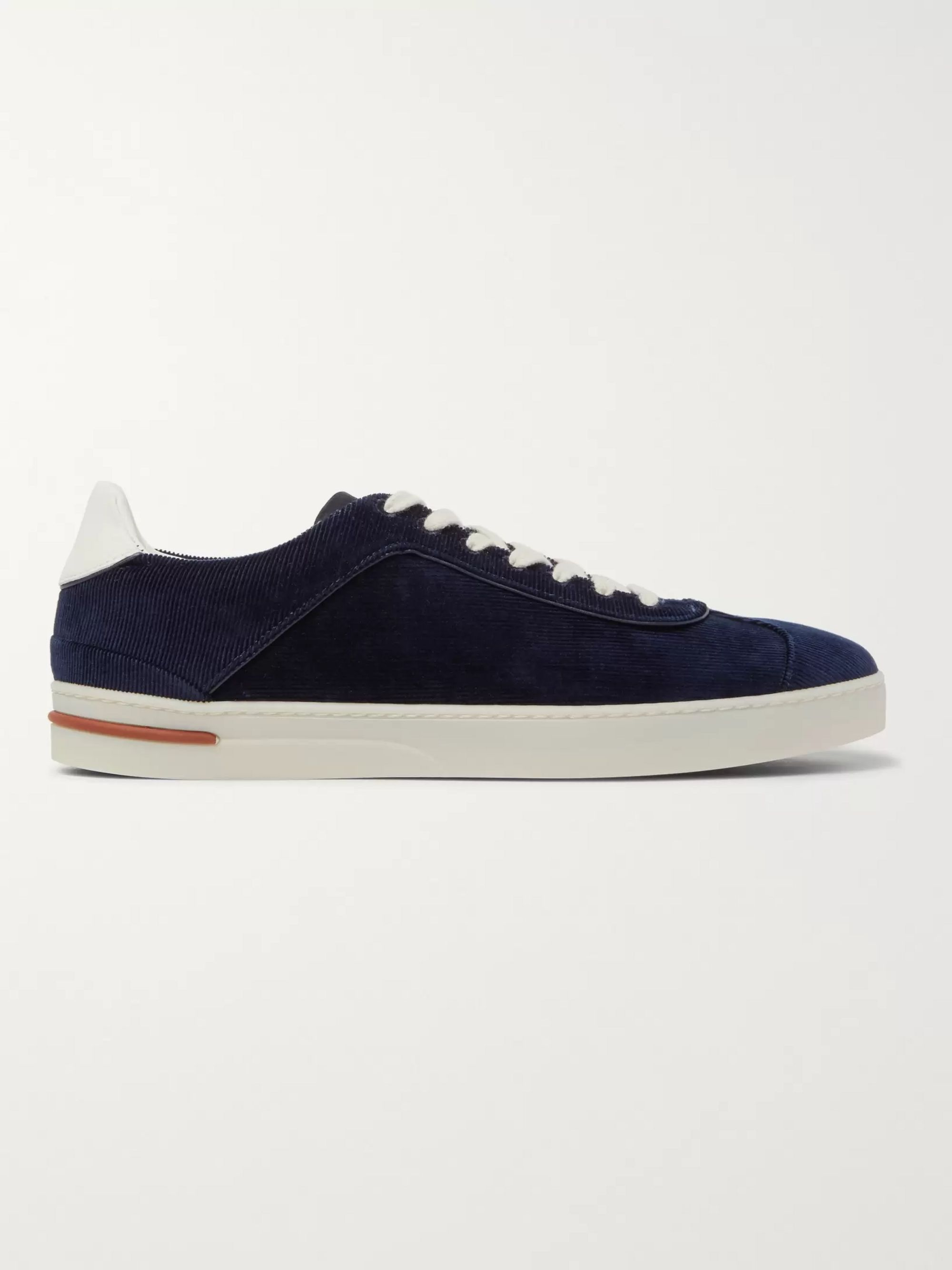 LORO PIANA 70's Walk Corduroy Sneakers