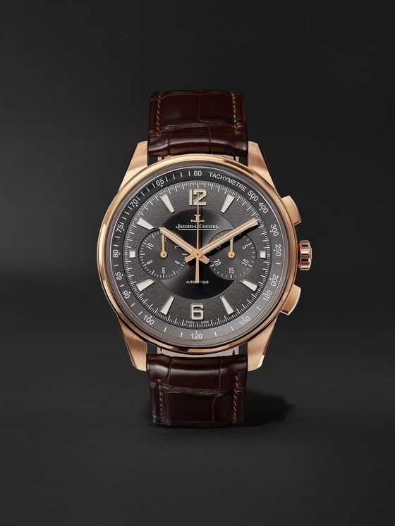 Jaeger-LeCoultre Polaris Automatic Chronograph 42mm Rose Gold and Alligator Watch