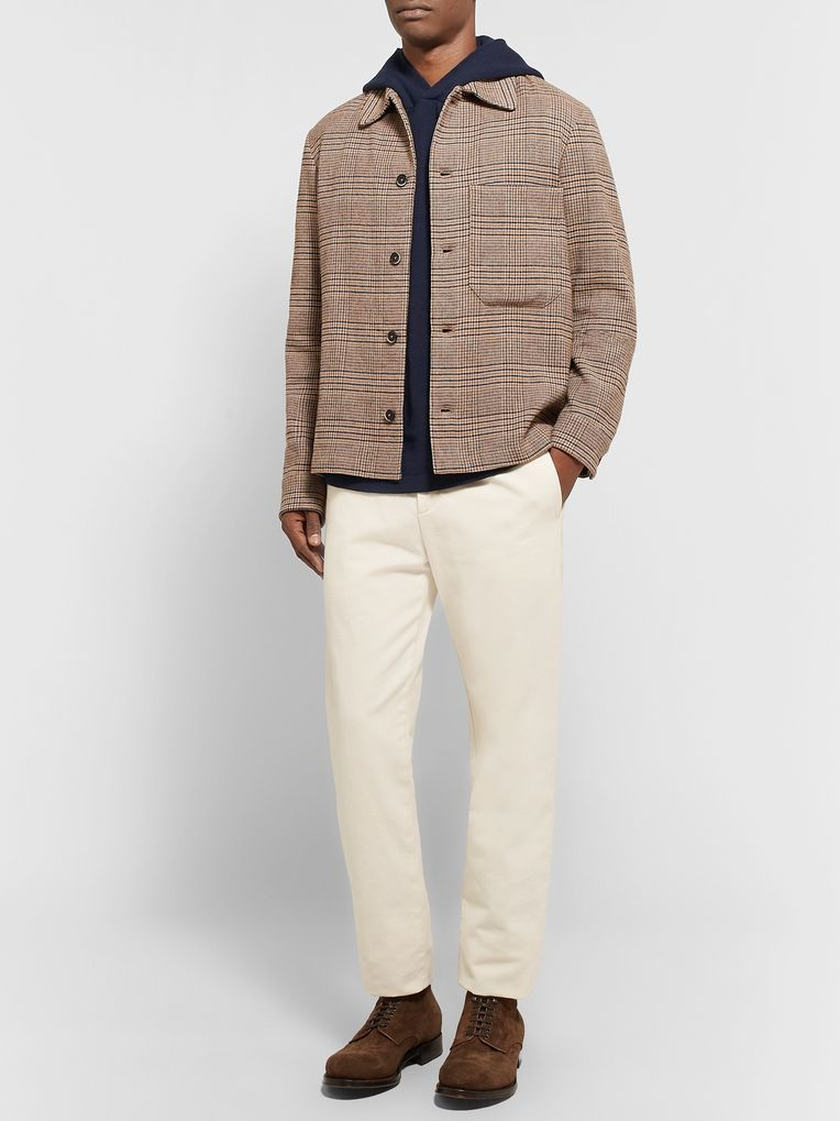 Massimo Alba Wool and Cashmere-Blend Hoodie