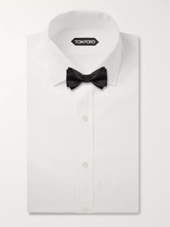 Richard James Self-Tie Silk-Satin Bow Tie