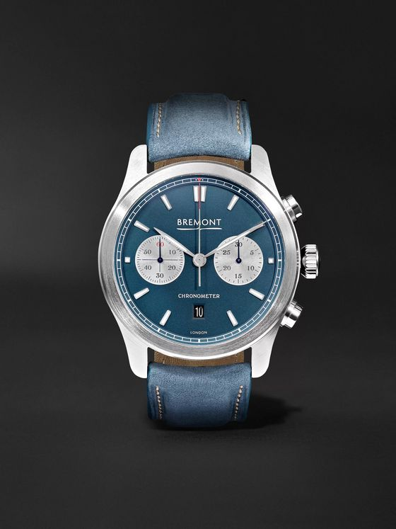 Bremont Zurich Chronograph 42mm DLC-Coated Stainless Steel and Kevlar Watch, Ref. No. CH_MO_034_06_L