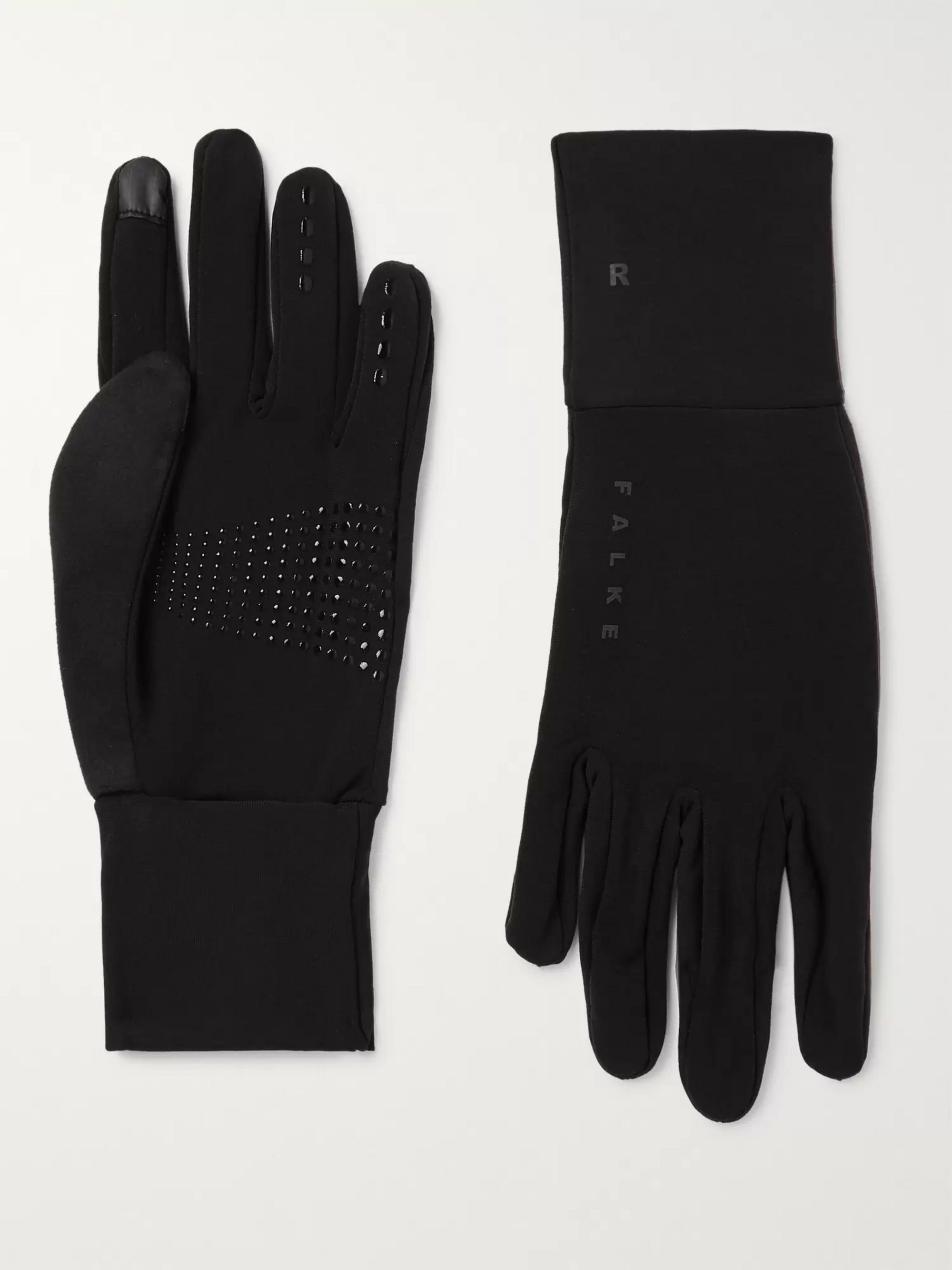 FALKE Ergonomic Sport System Brushed Stretch-Jersey Gloves