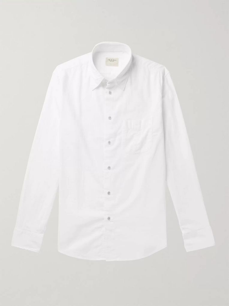 rag & bone Standard Issue Beach Slim-Fit Cotton Shirt