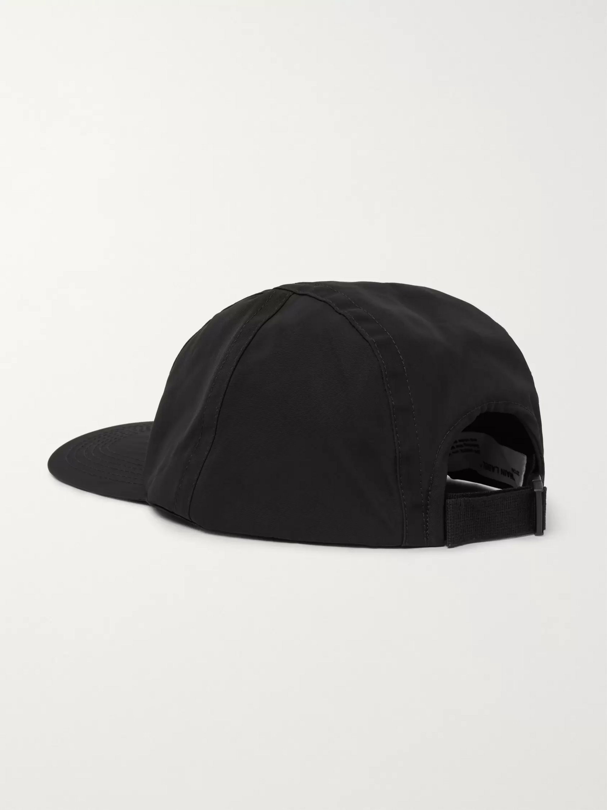 Off-White Logo-Appliquéd Shell Baseball Cap