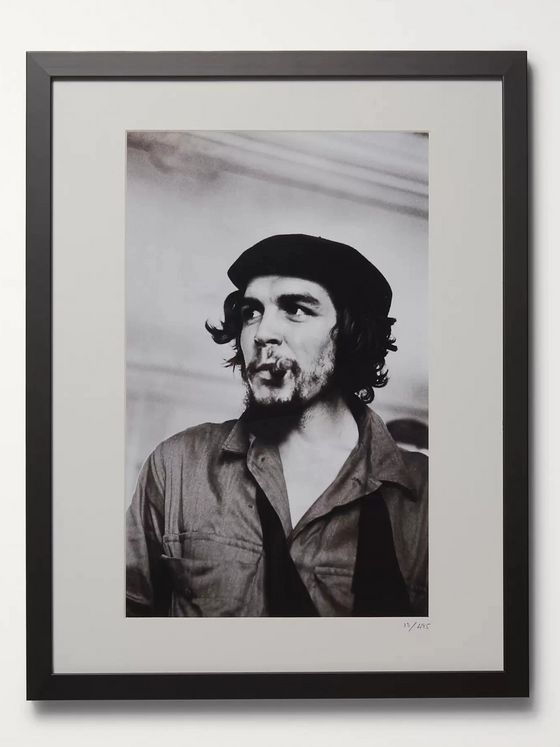 "Sonic Editions Framed 1959 Che Guevara Print, 16"" x 20"""