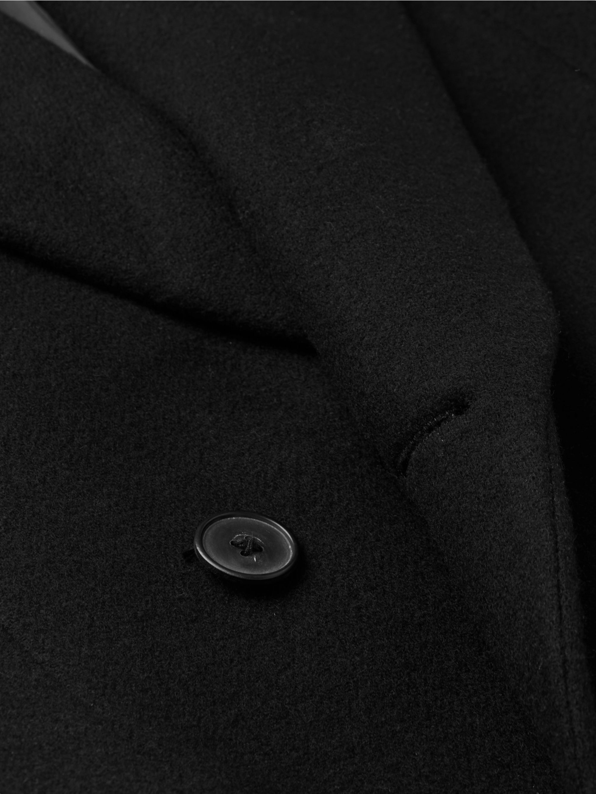 The Row Mickey Double-Breasted Cashmere Coat