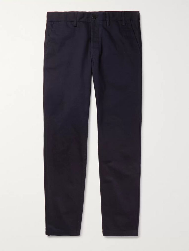 Norse Projects Aros Heavy Tapered Cotton-Twill Chinos