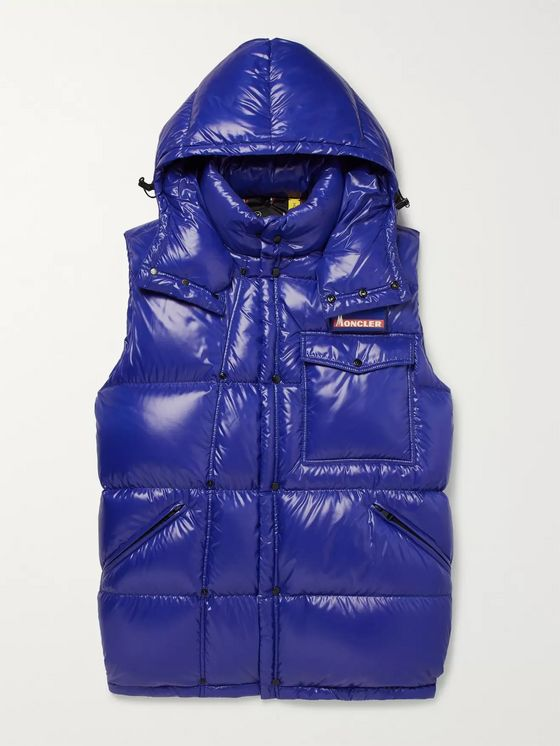 Moncler Genius 7 Moncler Fragment Ancheta Quilted Shell Hooded Down Gilet