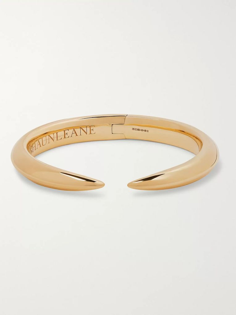 Shaun Leane Arc Gold-Plated Cuff
