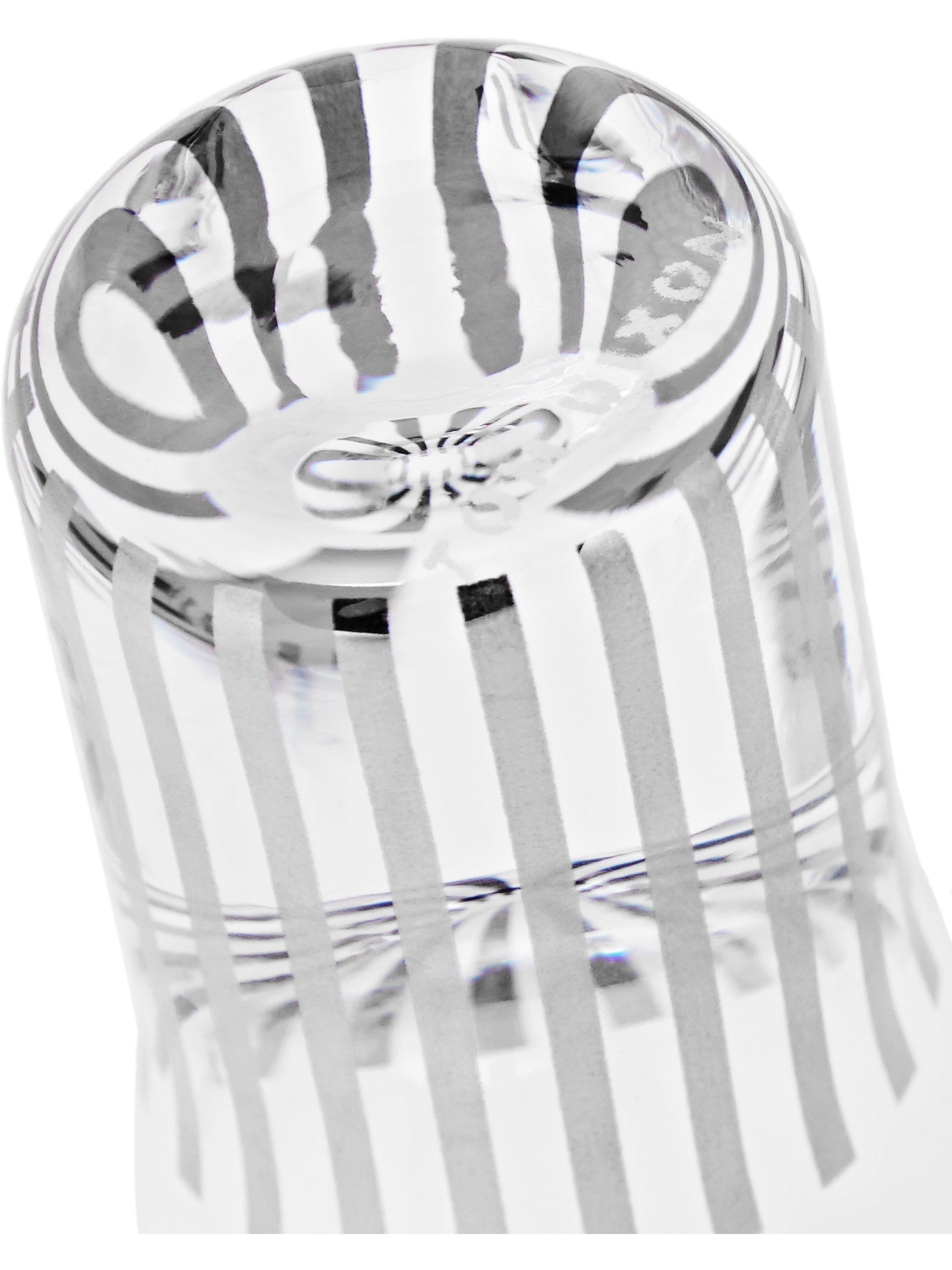 Tom Dixon Tank Set of Four Striped Shot Glasses