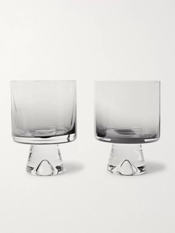 Tom Dixon Tank Set of Two Dégradé Low Ball Glasses