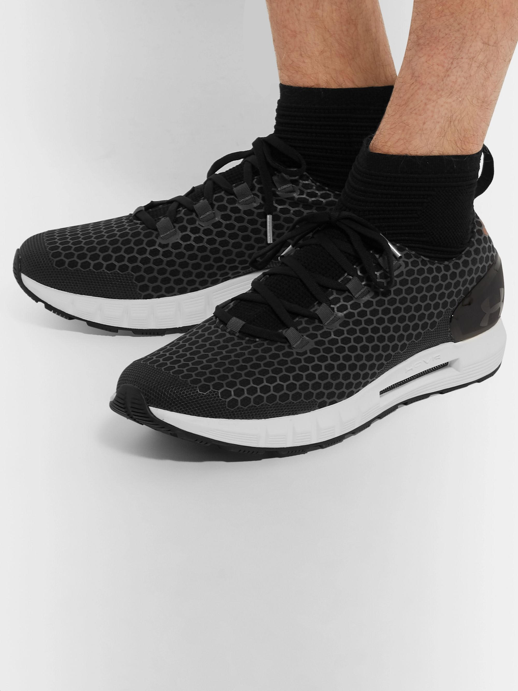 more photos e75f8 ab988 Hovr Reactor Stretch-Knit and Mesh Running Sneakers