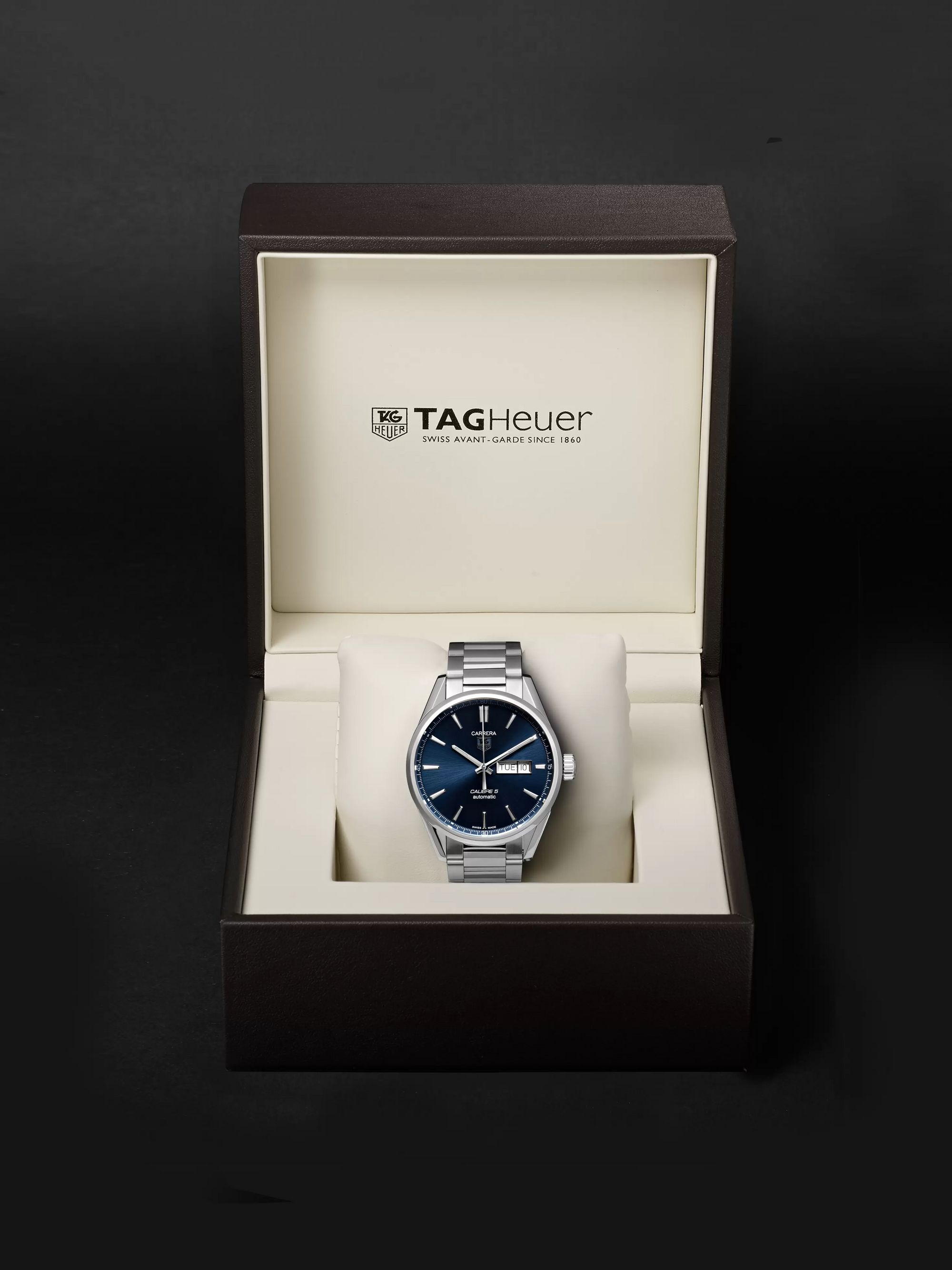 TAG Heuer Carrera Automatic 41mm Steel Watch, Ref. No. WAR201E.BA0723