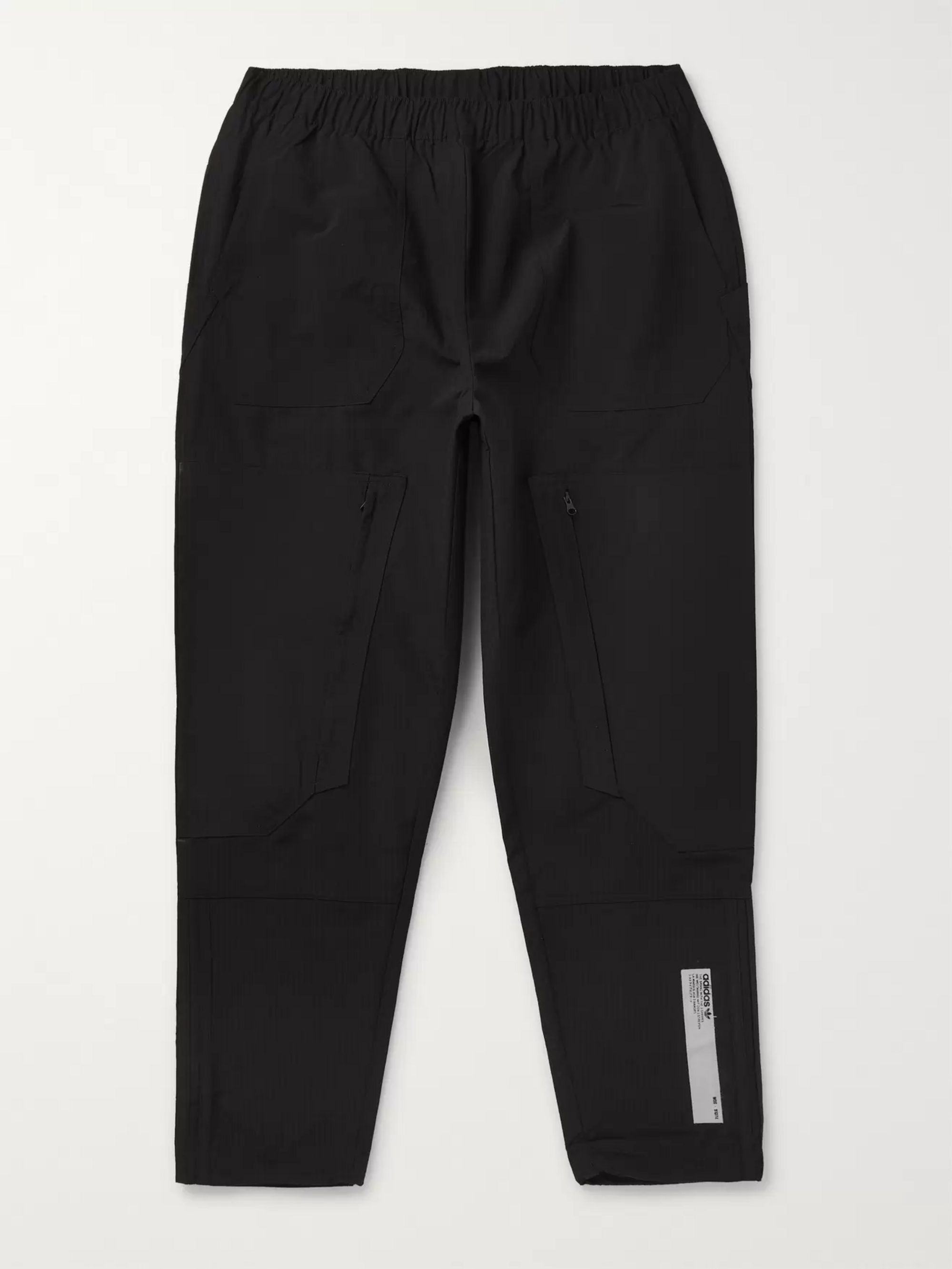 NMD Two Tone Cotton Blend Shell Cargo Trousers