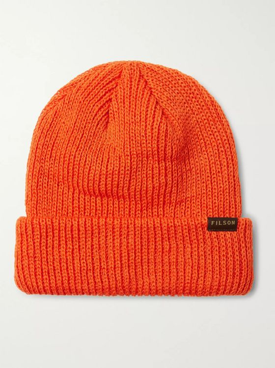 Filson Watch Cap Ribbed Wool Beanie