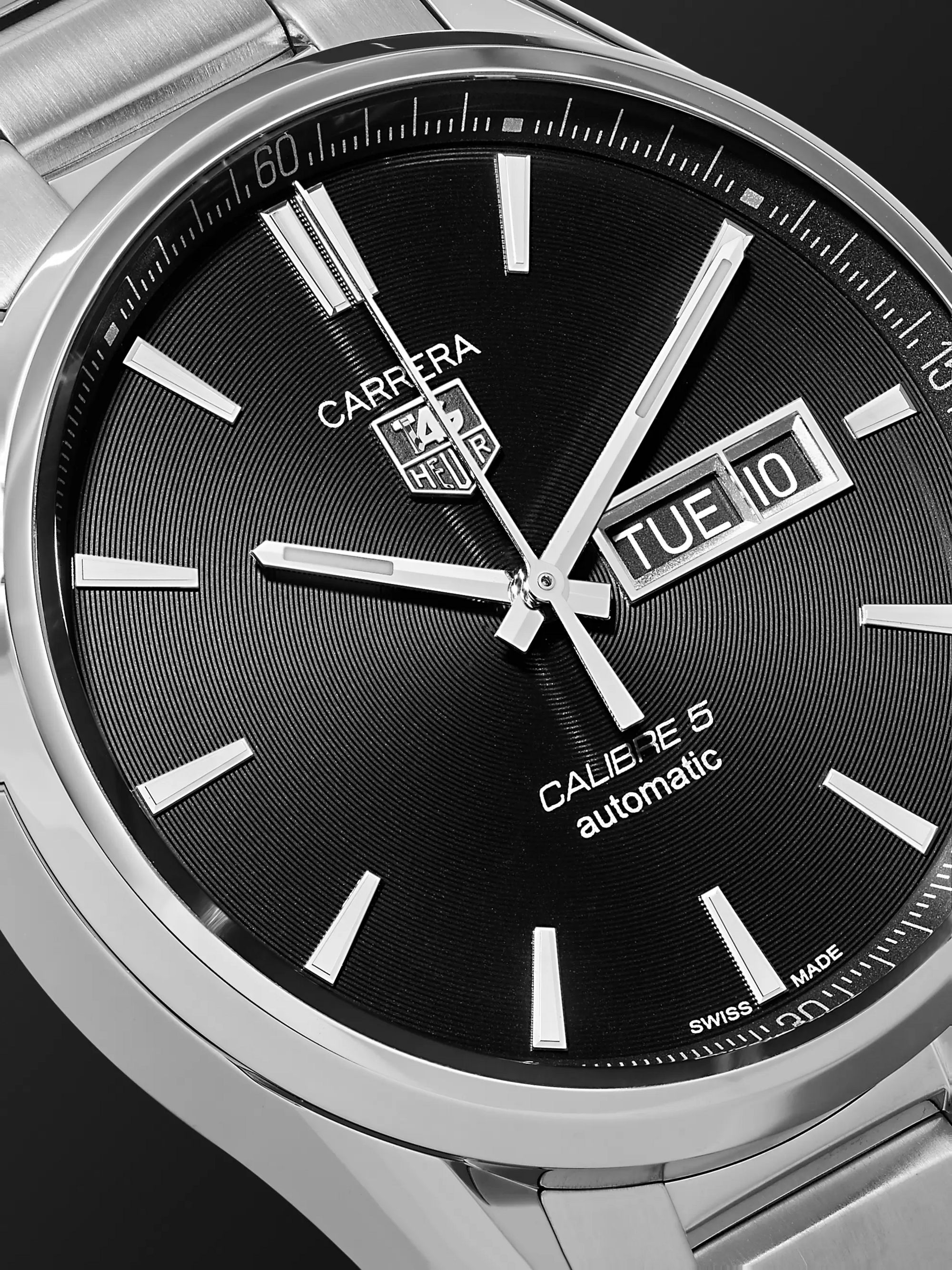 TAG Heuer Carrera Automatic 41mm Steel Watch, Ref. No. WAR201A.BA0723