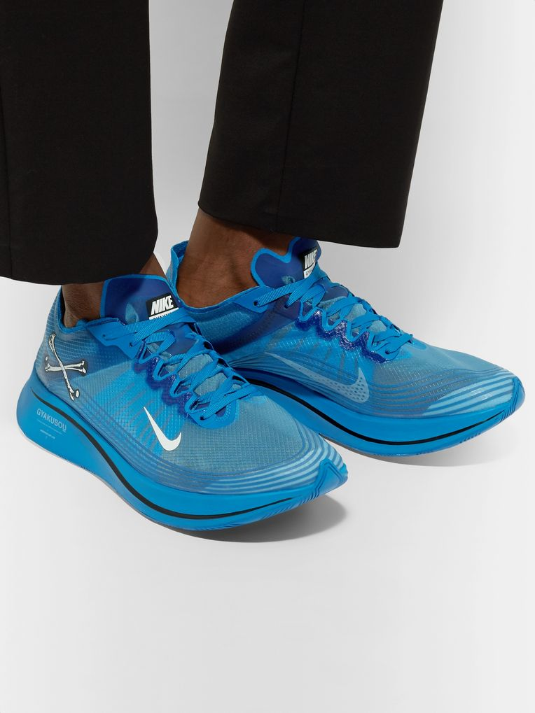 Nike x Undercover + GYAKUSOU Zoom Fly SP Ripstop Sneakers