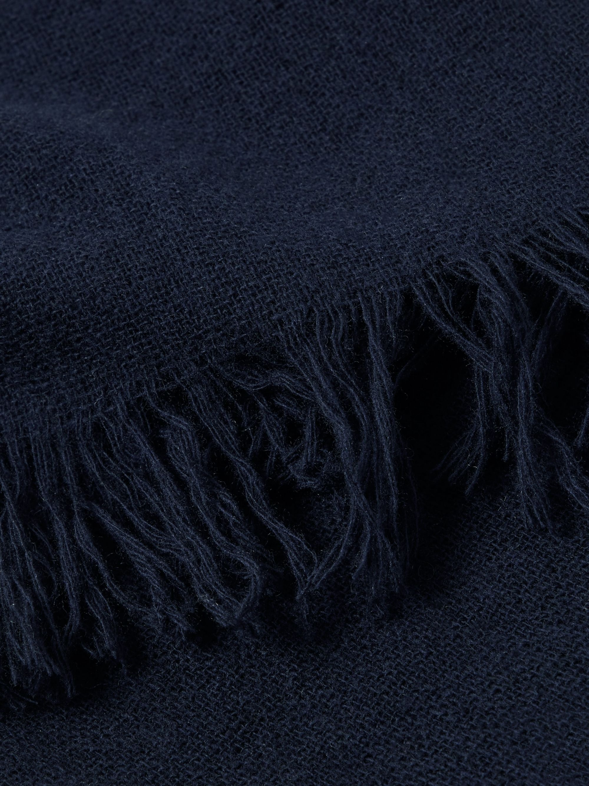 SALLE PRIVÉE Ansel Fringed Wool and Cashmere-Blend Scarf