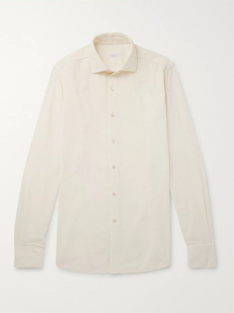 Incotex Ween Slim-Fit Cotton-Corduroy Shirt