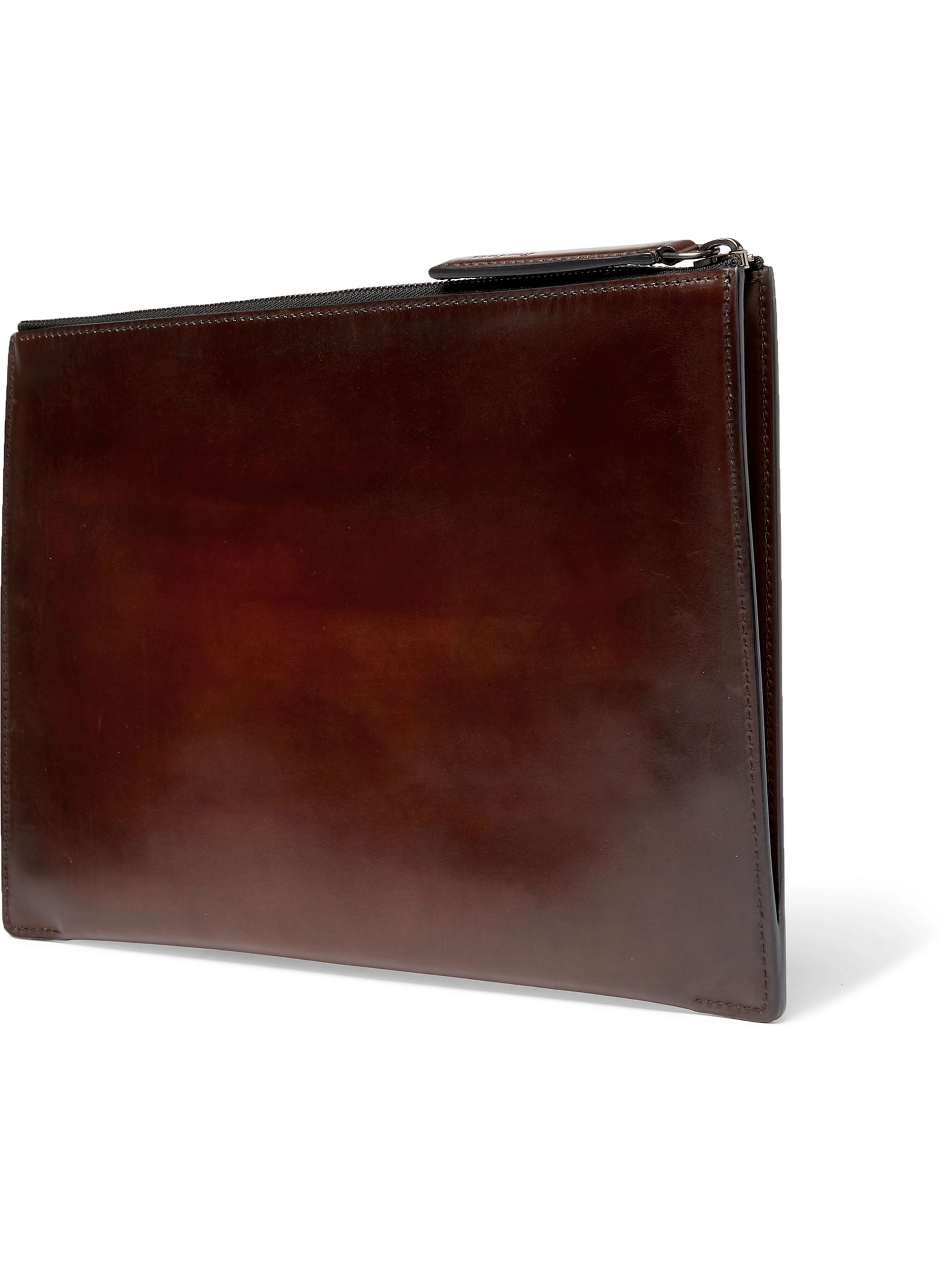 Berluti Band Leather Pouch