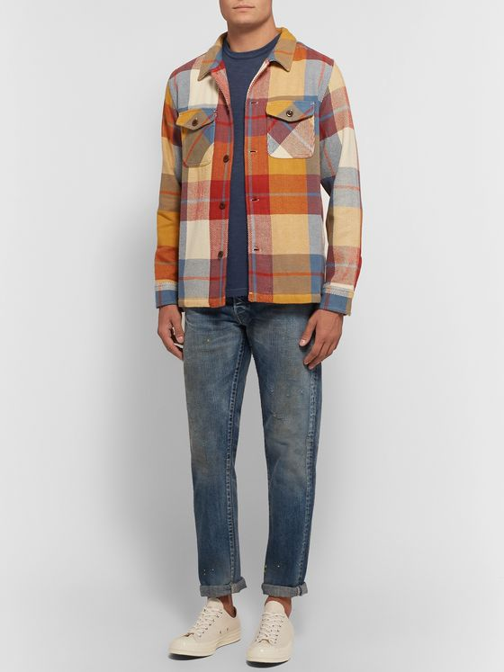J.Crew Slim-Fit Garment-Dyed Mélange Cotton-Jersey T-Shirt