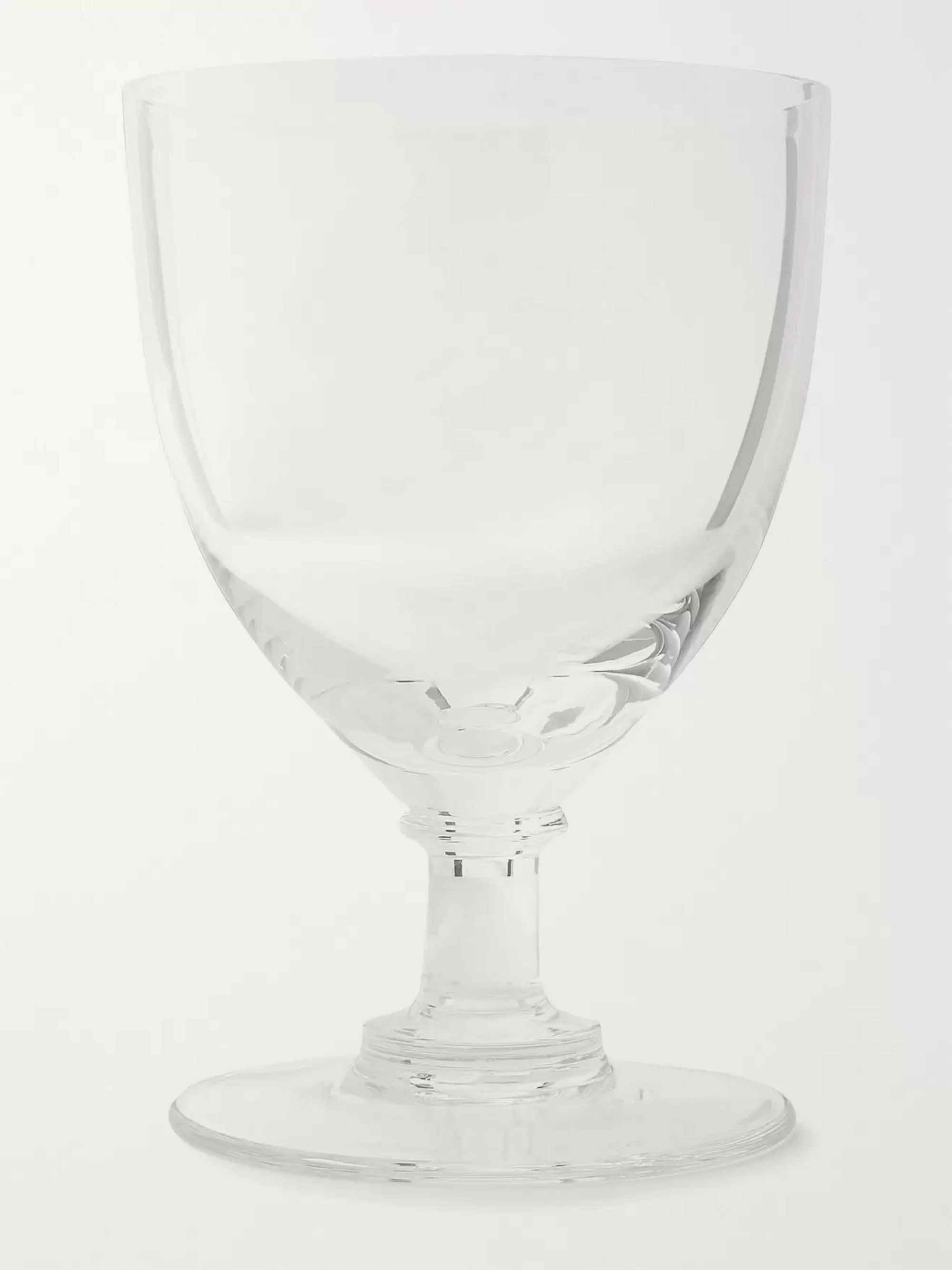 The Wolseley Collection Set of Six Crystal Wine Glasses