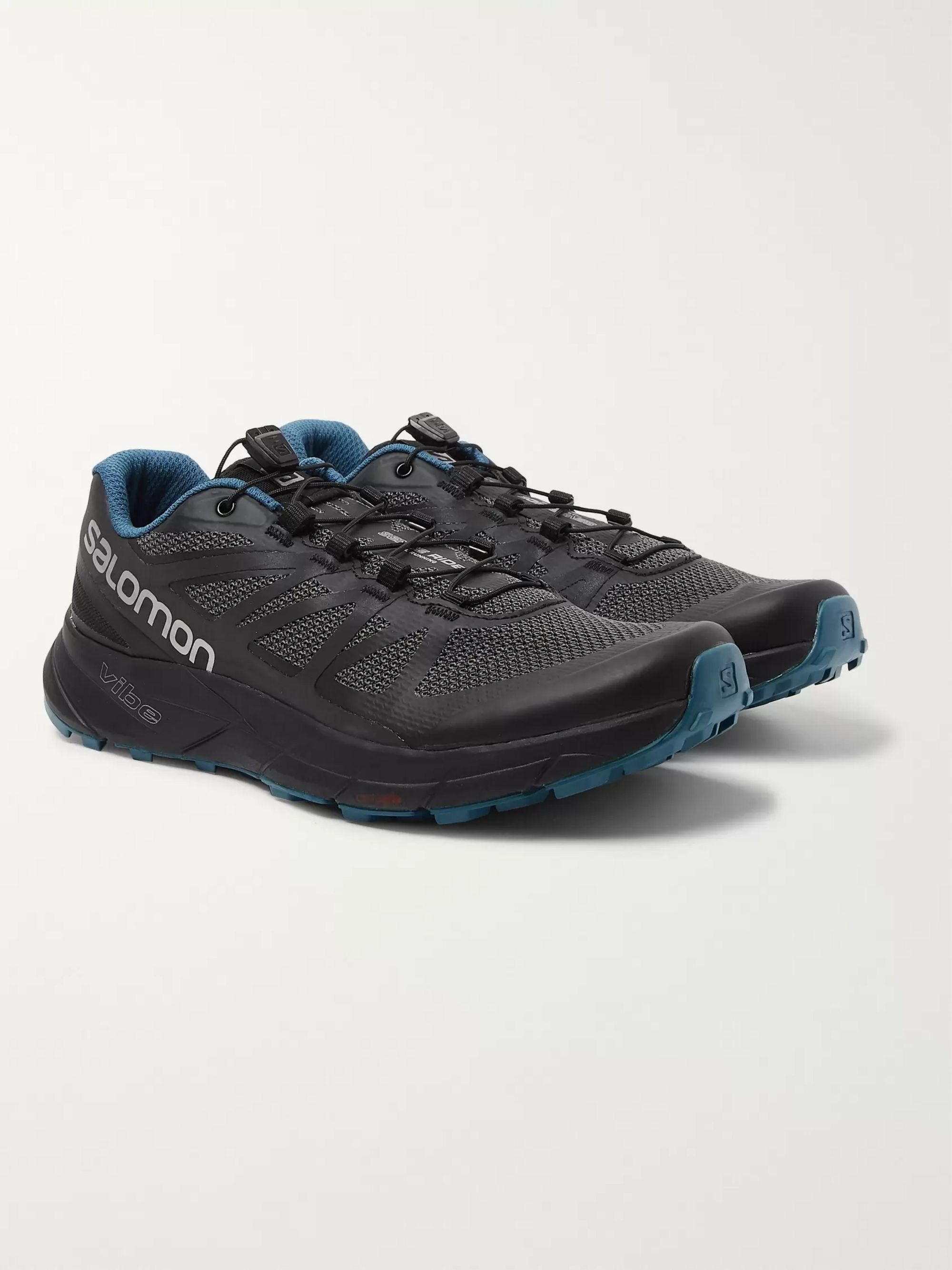 Salomon Sense Ride Nocturne Mesh and Rubber Running Sneakers