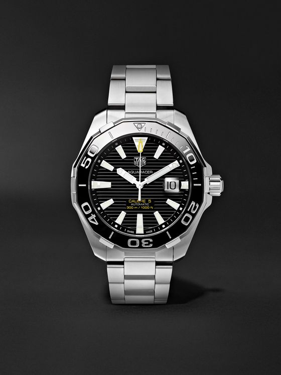 TAG Heuer Aquaracer Automatic 43mm Steel Watch, Ref. No. WAY201A.BA0927