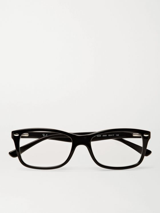 RAY-BAN Square-Frame Acetate Optical Glasses
