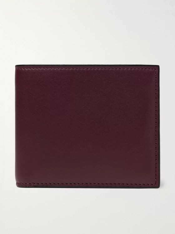 Valextra Leather Billfold Wallet