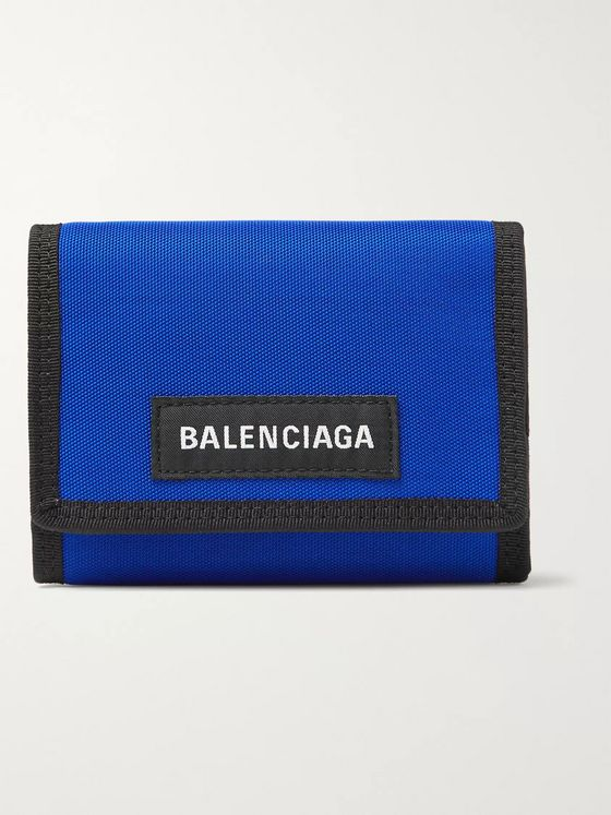 Balenciaga Explorer Canvas Billfold Wallet