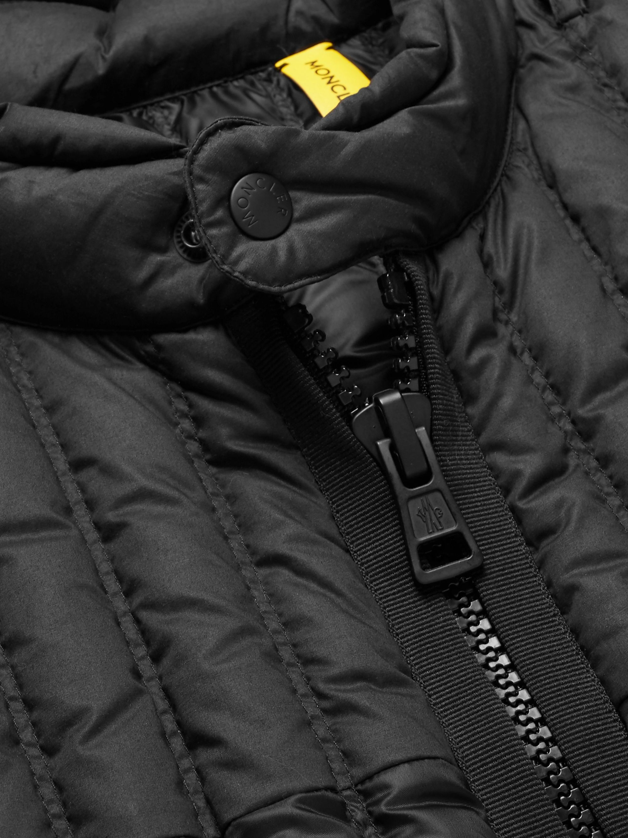 Moncler Genius 5 Moncler Craig Green Grosgrain-Trimmed Quilted Shell Down Gilet