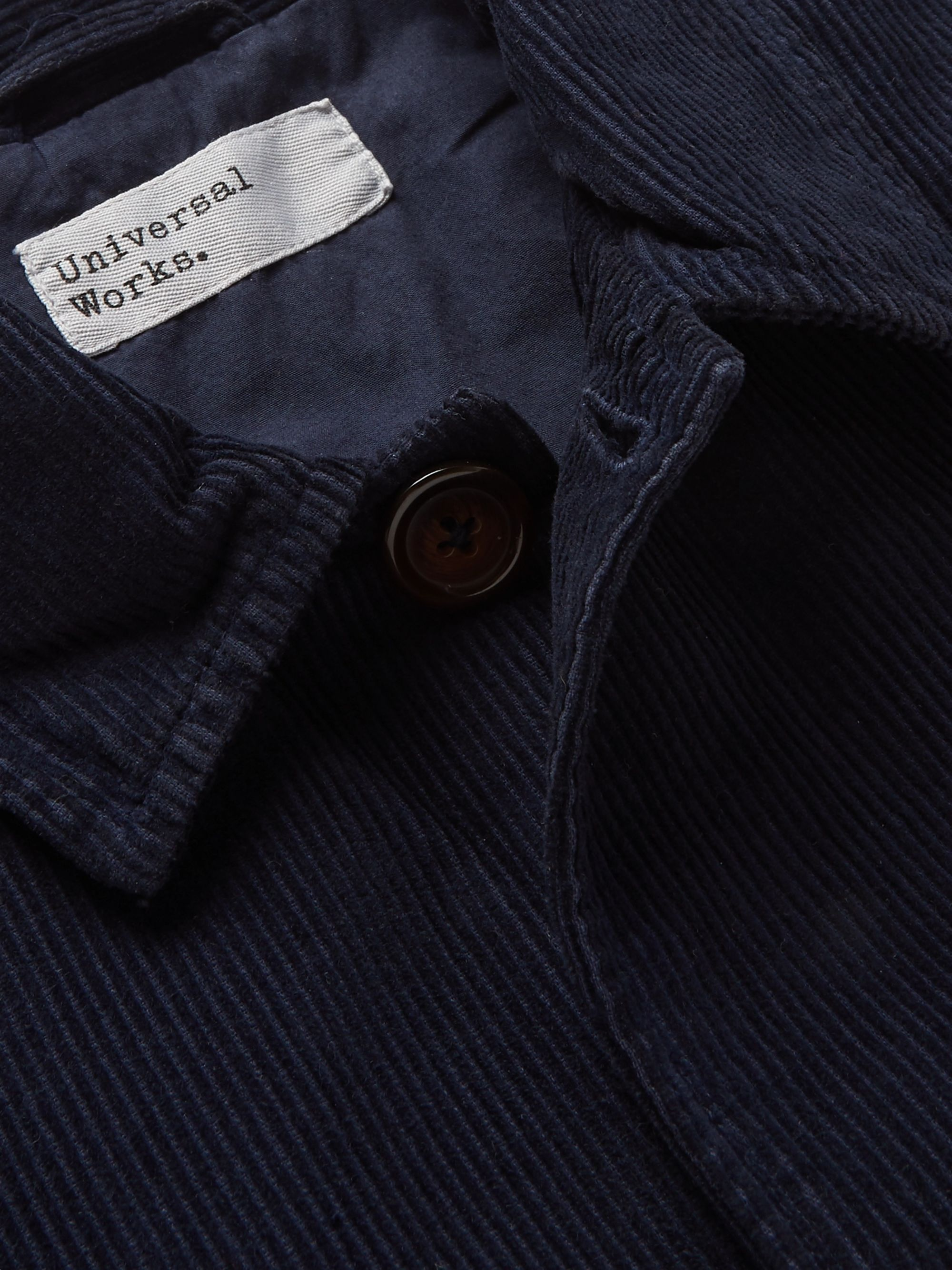 Universal Works Garment-Dyed Cotton-Corduroy Jacket