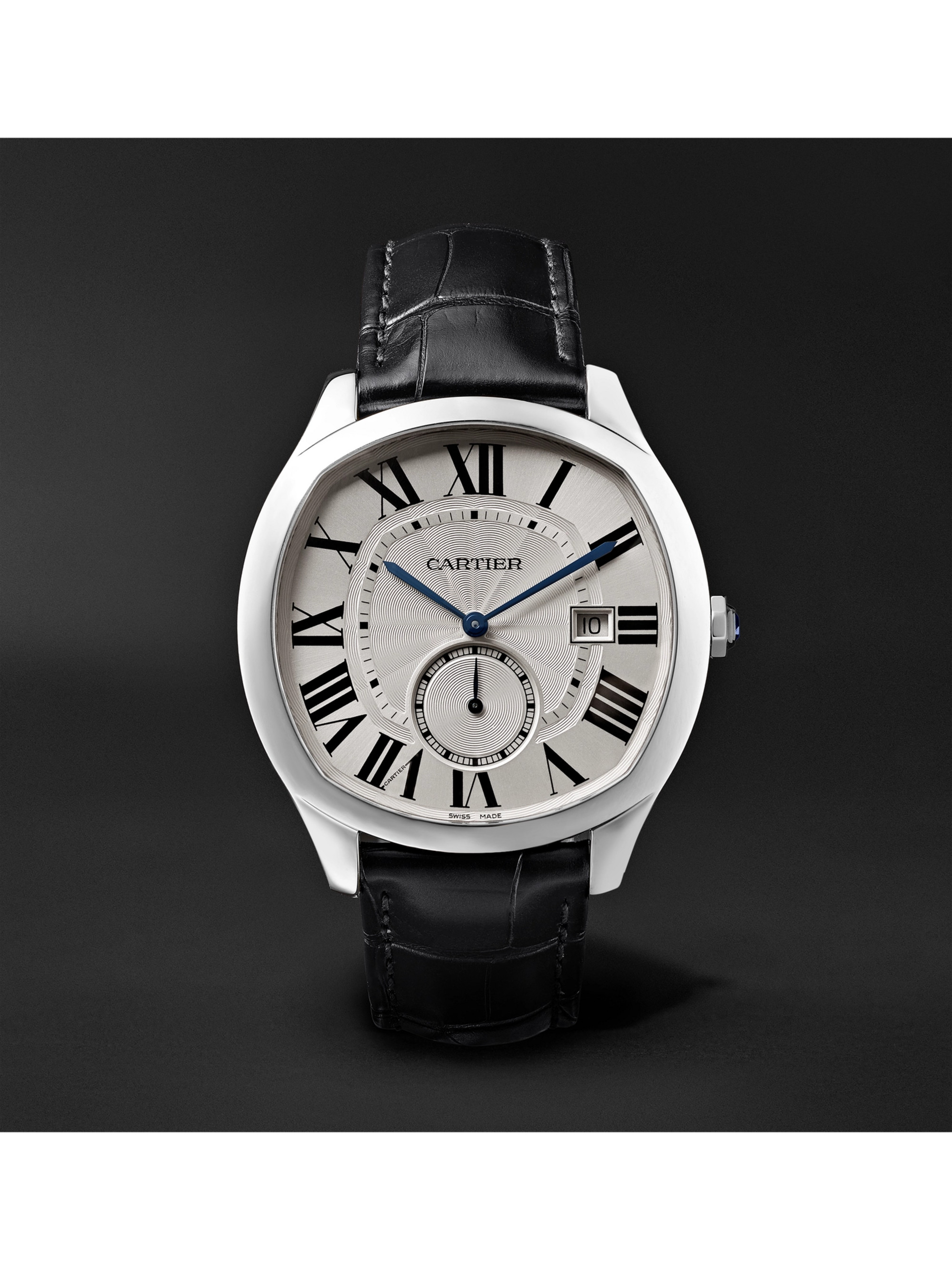 Cartier Drive de Cartier Automatic 41mm Steel and Alligator Watch
