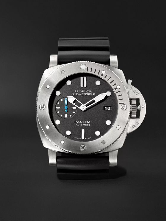 Panerai Luminor Submersible 1950 3 Days Automatic 47mm Titanium and Rubber Watch, Ref. No. PAM01305