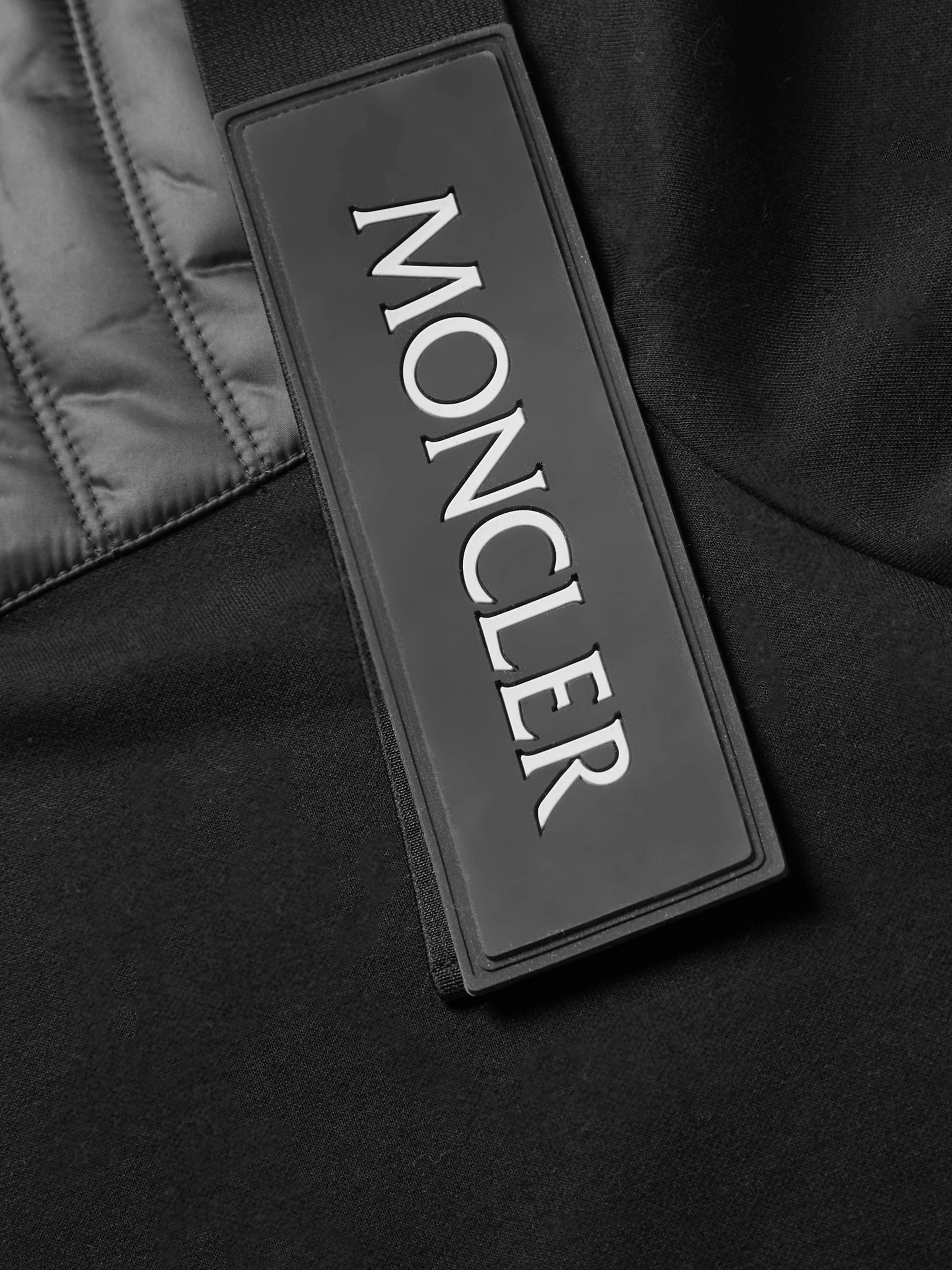 Moncler Genius 5 Moncler Craig Green Nylon-Panelled Cotton-Blend Jersey Sweatshirt