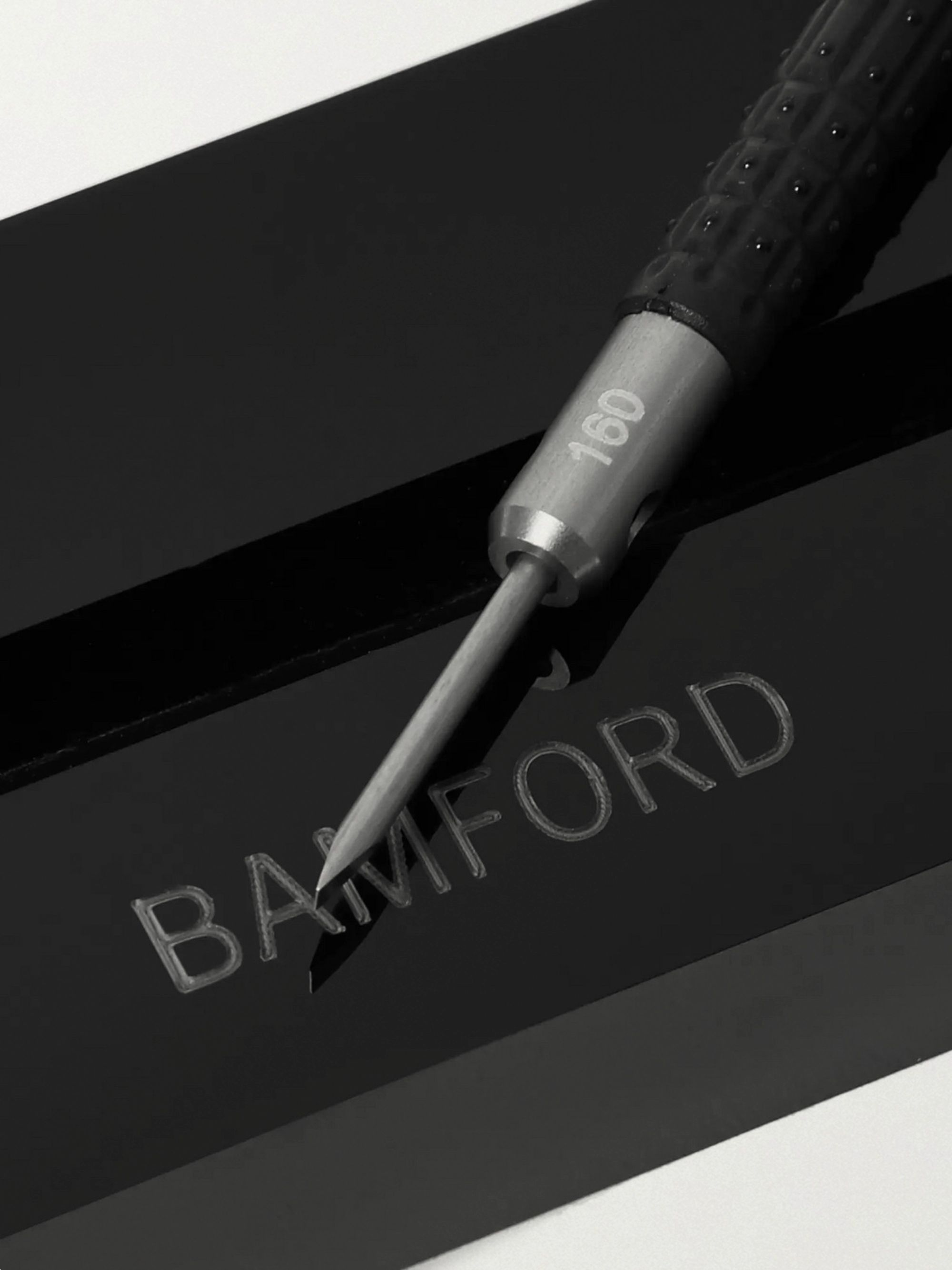 Bamford Watch Department + Bergeon Rubber-Trimmed Stainless Steel Slotted Screwdriver