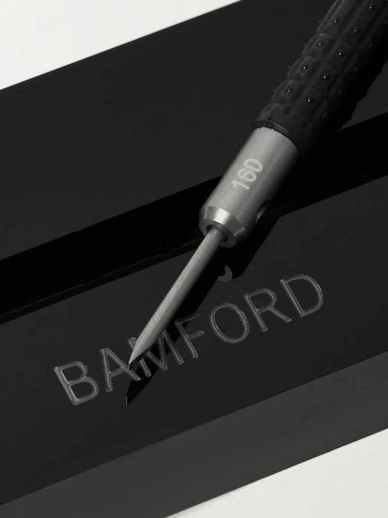 BAMFORD LONDON + Bergeon Rubber-Trimmed Stainless Steel Slotted Screwdriver