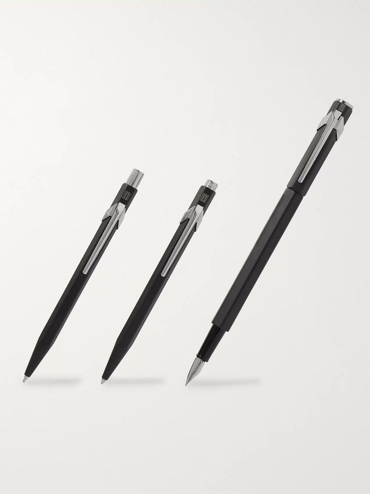 Caran d'Ache 849 Fountain Pen, Ballpoint Pen and Mechanical Pencil Gift Set